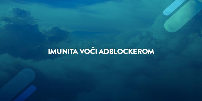imunita voci adblockerom blog