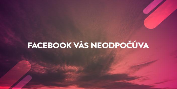 facebook nás odpočúva blog